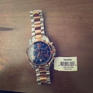 Michael Kors watch with extender pieces — Like New